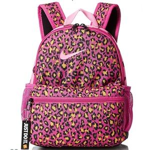 Nike Just Do It Leopard Print Backpack